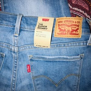 Levi 710 super skinny jeans